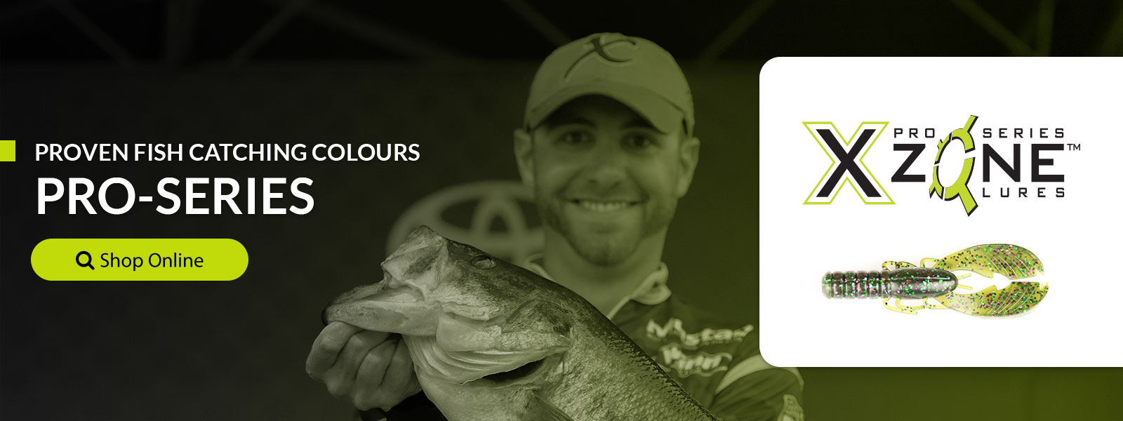 X Zone Lures Pro Series Lures for Bigger Fish in the USA & Canada